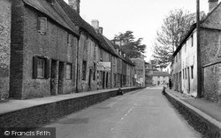 Lechlade, London Road c.1955, Lechlade On Thames