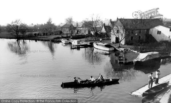 Photo of Lechlade, Riverside Tea Gardens c.1955
