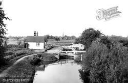 Lechlade, St John's Lock c.1955, Lechlade On Thames