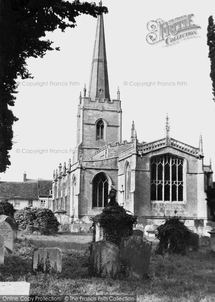 Photo of Lechlade, St Lawrence Church c.1955