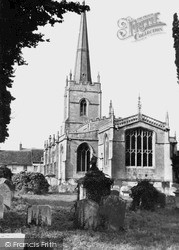 Lechlade, St Lawrence Church c.1955, Lechlade On Thames