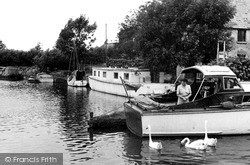 Lechlade, The Moorings c.1955, Lechlade On Thames