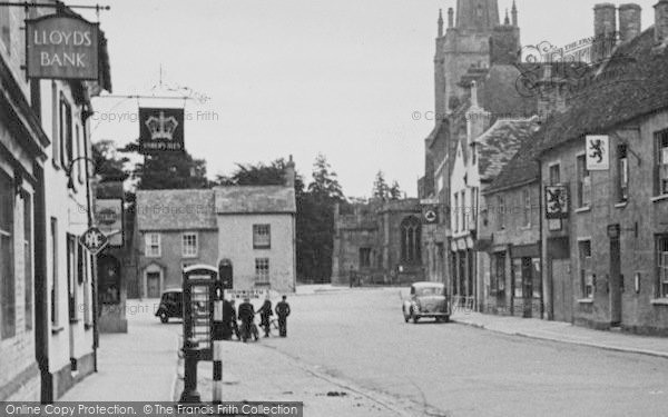 Photo of Lechlade, The Old Market Place c.1950