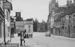 Lechlade, The Old Market Place c.1950, Lechlade On Thames