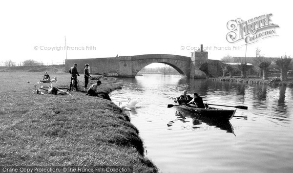 Photo of Lechlade, The River Thames c.1955