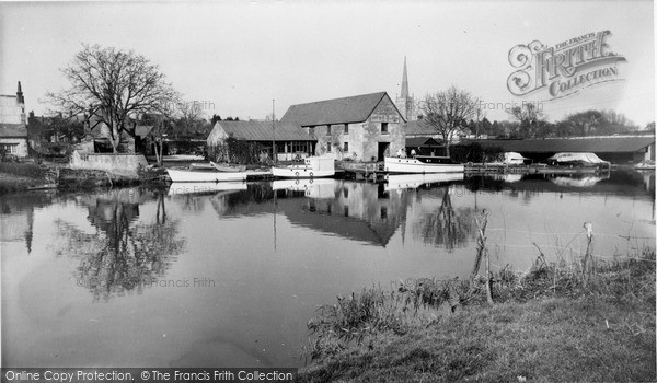 Photo of Lechlade, The River Thames c.1960