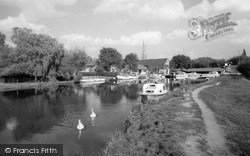 Lechlade, The River Thames c.1960, Lechlade On Thames