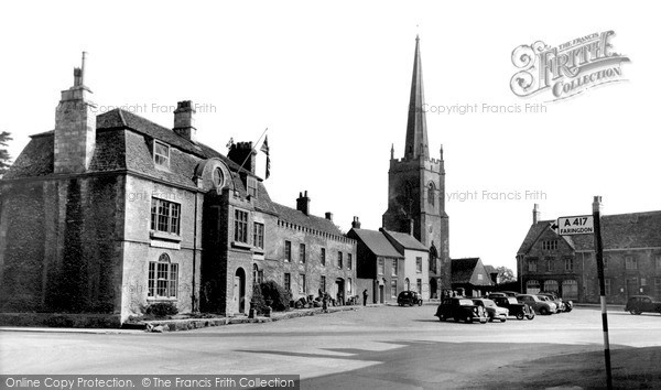 Photo of Lechlade, The Square c.1955