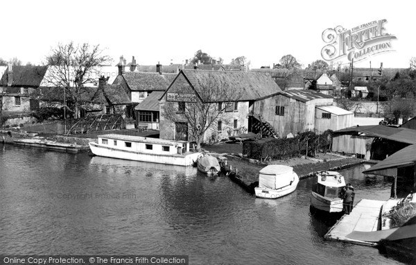 Photo of Lechlade, The Wharf c.1955