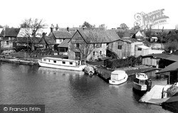 Lechlade, The Wharf c.1955, Lechlade On Thames