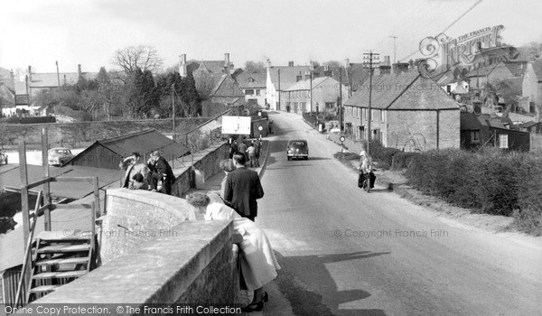 Photo of Lechlade, View From The Bridge c.1960