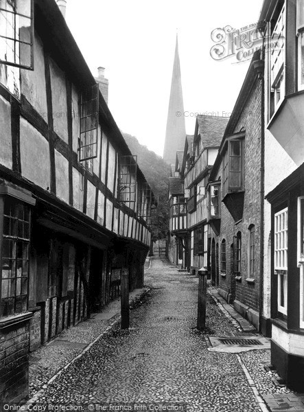 Photo of Ledbury, Church Lane 1938, ref. L132004