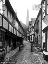 Ledbury, Church Lane 1938