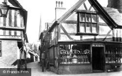 Church Lane c.1870, Ledbury