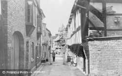Ledbury, Church Lane c.1950