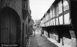 Ledbury, Church Lane c.1955
