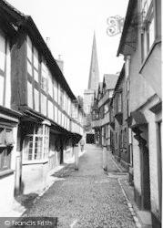 Ledbury, Church Lane c.1955