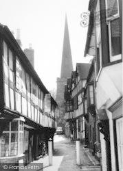 Ledbury, Church Lane c.1960