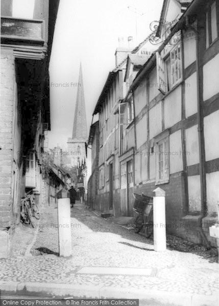 Photo of Ledbury, Church Lane c.1960
