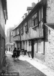 Church Lane c.1965, Ledbury