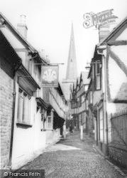 Ledbury, Church Lane c.1965