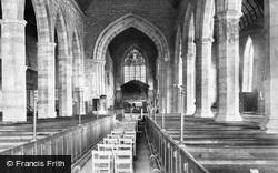 Church, The Chancel c.1875, Ledbury