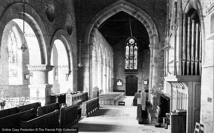 Photo of Ledbury, Church, The Chancel c.1875