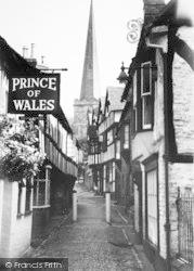 Ledbury, Church Walk c.1965