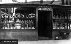 Ledbury, Grocers, Ballard And R.Edy c.1870