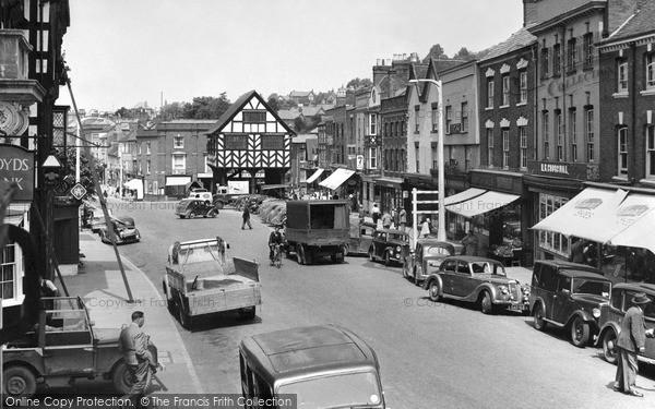 Photo of Ledbury, High Street 1952