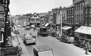 Ledbury, High Street 1952