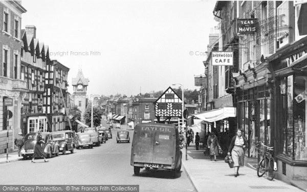 Photo of Ledbury, High Street c.1955