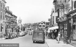 Ledbury, High Street c.1955