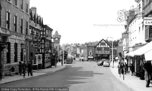 Ledbury, High Street c1955