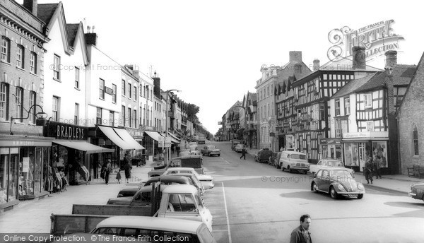 Photo of Ledbury, High Street c.1965