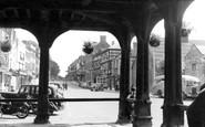 Ledbury, High Street from Market House c1955