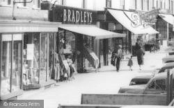 High Street, Shops c.1965, Ledbury