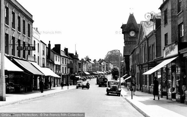 Photo of Ledbury, Homend 1952