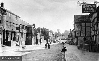 Ledbury, Homend Street c1880