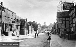 Homend Street c.1880, Ledbury