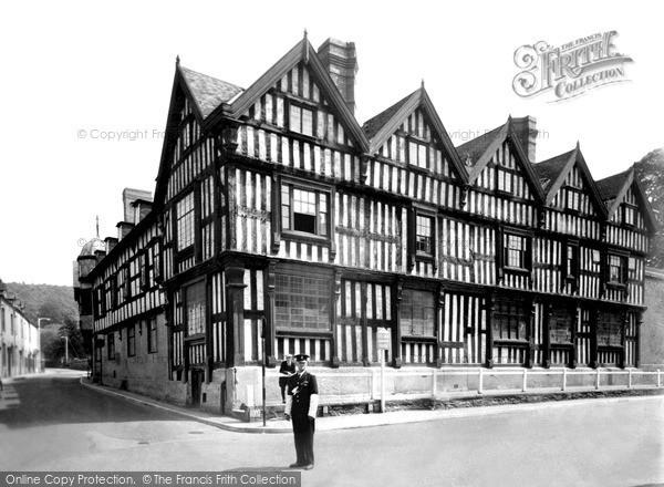 Ledbury, the Park c1955