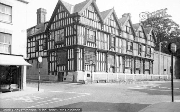 Photo of Ledbury, Ledbury Park c.1955