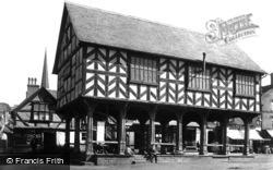 Market House c.1870, Ledbury