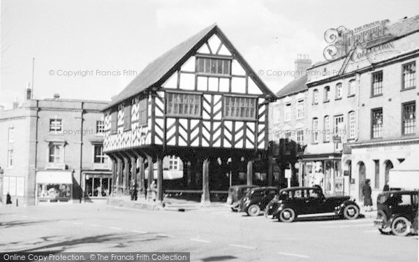 Photo of Ledbury, Market House c.1938