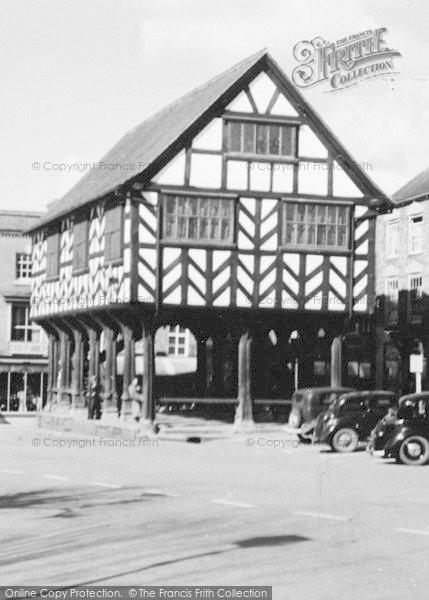 Photo of Ledbury, Market House c.1938