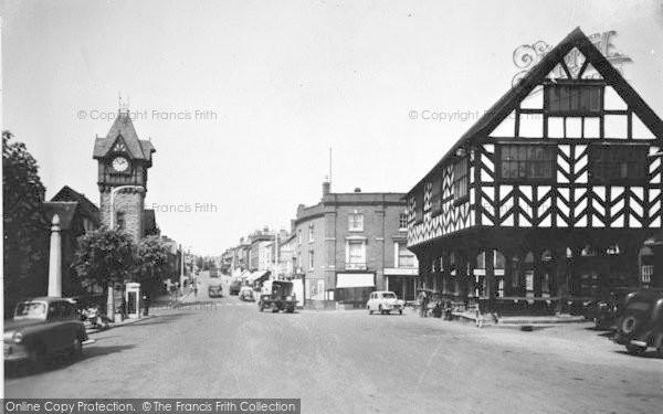 Photo of Ledbury, Market House c.1950