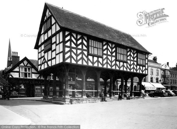 Photo of Ledbury, Market House c.1955
