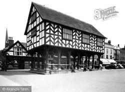 Market House c.1955, Ledbury