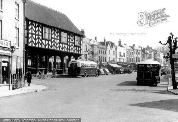 Photo of Ledbury, Market Place c.1950