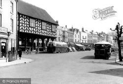 Market Place c.1950, Ledbury